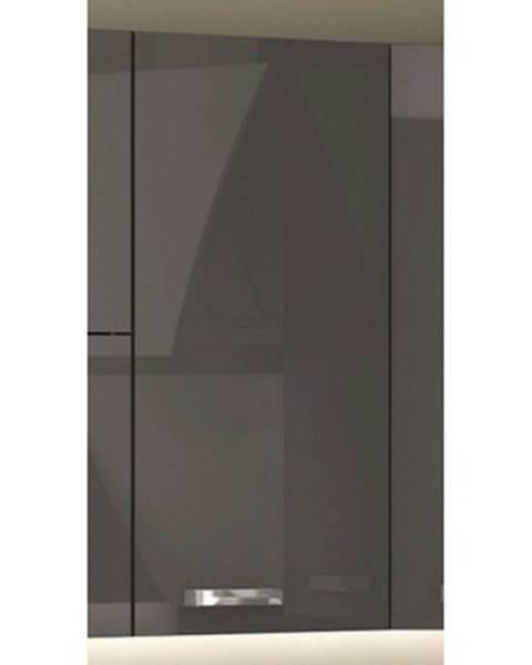 ASKO - NÁBYTOK Horná kuchynská skrinka Grey 30G, 30 cm%