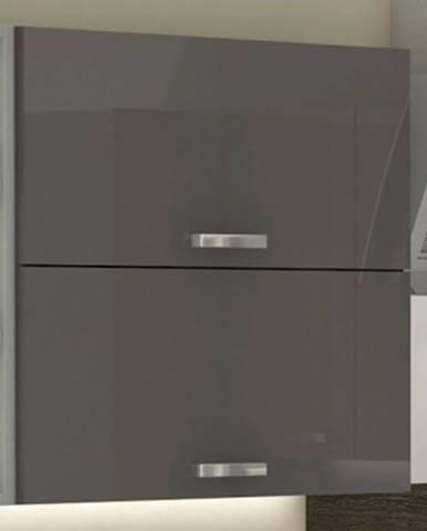 Horná kuchynská skrinka Grey 60GU, 60 cm%