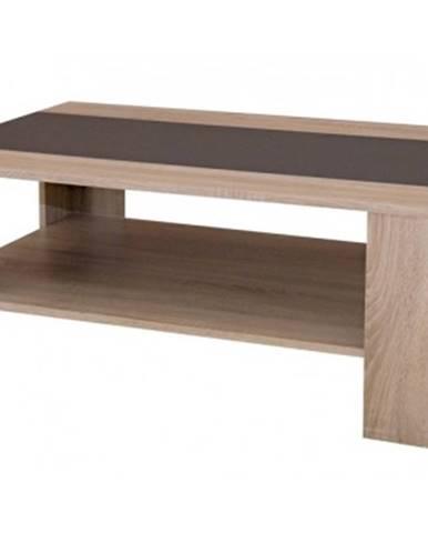 Konferenčný stolík AS-56, dub sonoma/antracitová%