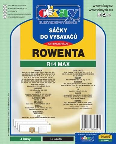 Vrecká do vysávača Rowenta R14 MAX, 8ks