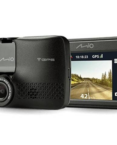 Autokamera Mio MiVue 733 GPS, WiFi, FullHD, 130°