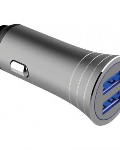 Autonabíjačka WG 2xUSB 3,1A + kábel USB Typ C