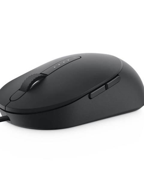Dell Drôtová myš Dell MS3220, čierna + Zdarma podložka Olpran
