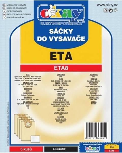 Jolly Vrecká do vysávača Eta ETA 8, 10ks