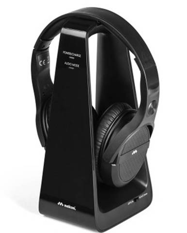 Slúchadlá k TV Meliconi HP Digital, čierne