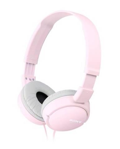 Slúchadlá cez hlavu Sony MDR-ZX110APP, ružové