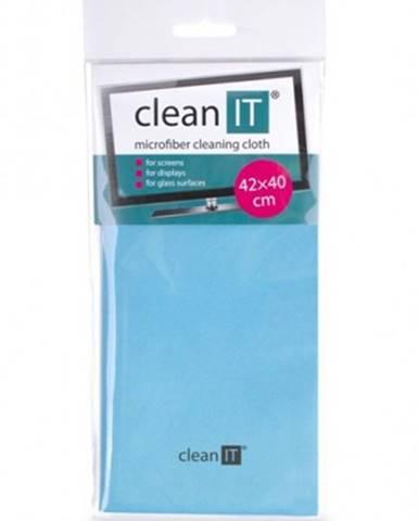 Čistiaca utierka z mikrovlákna CLEAN IT CL700, veľká, modrá