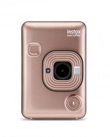 Fotoaparát Fujifilm Instax Mini LiPlay, zlatá