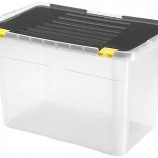 Úložný box s vekom Heidrun HDR656, 54l, plast