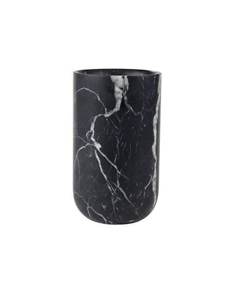 Zuiver Čierna mramorová váza Zuiver Fajen