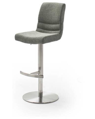 Barová stolička SADIE sivá