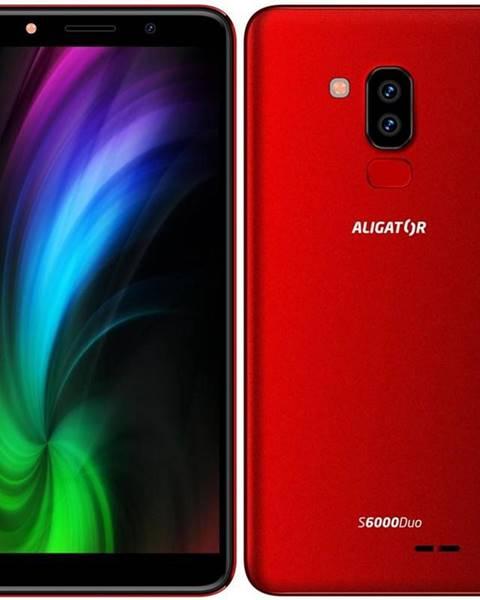 Aligator Mobilný telefón Aligator S6000 Dual SIM červený