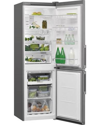 Kombinácia chladničky s mrazničkou Whirlpool W7 831T OX H nerez