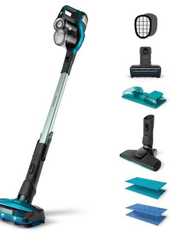 Tyčový vysávač Philips FC6904/01 SpeedPro Max Aqua modr