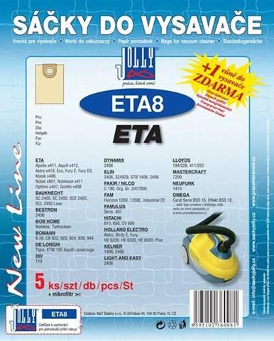 Sáčky pre vysávače Jolly ETA 8