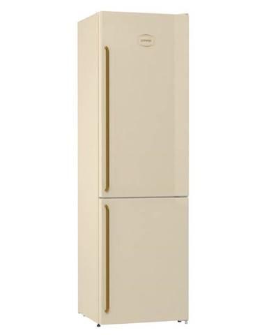 Kombinácia chladničky s mrazničkou Gorenje Classico Nrk6202cli
