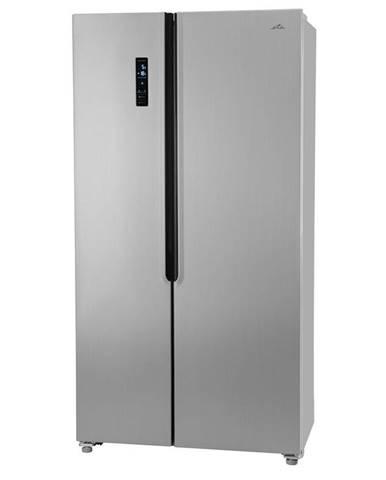 Americká chladnička ETA 138890010E strieborn