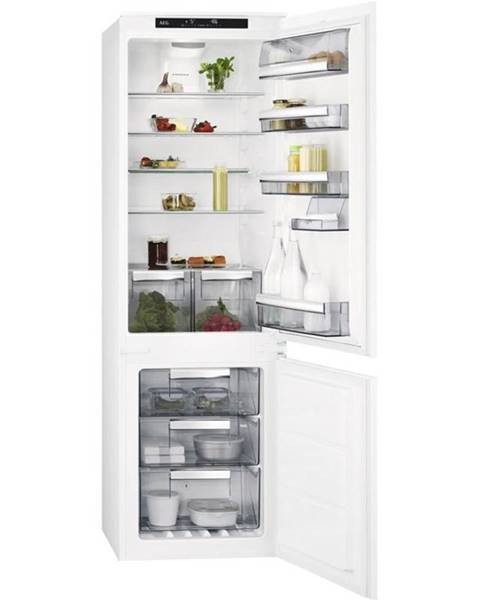 AEG Kombinácia chladničky s mrazničkou AEG Mastery Sce818e6ts biele