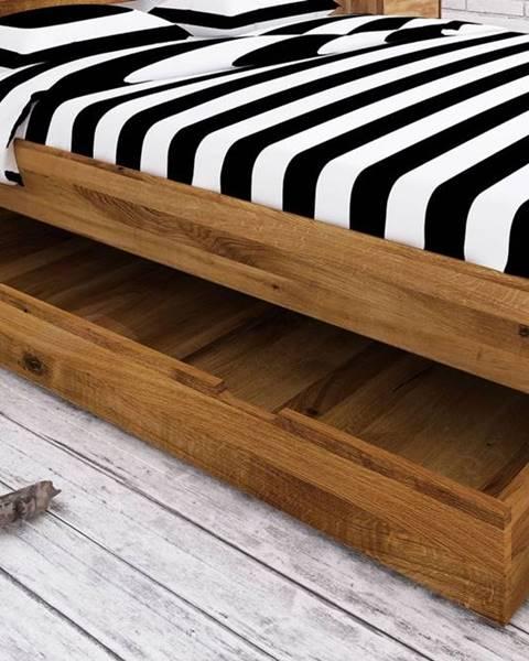 Bighome.sk SKANE Úložný priestor pod posteľ 150x68 cm, dub, prírodná