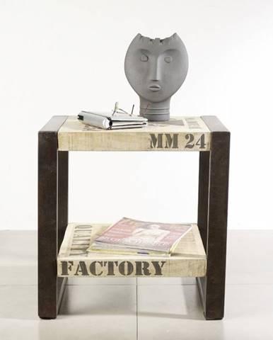 FABRICA Príručný stolík 50x40 cm, mango
