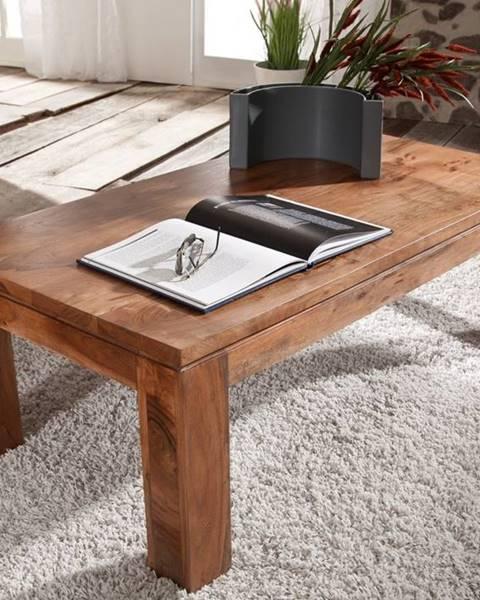 Bighome.sk KOLINS Konferenčný stolík 115x60 cm, akácia