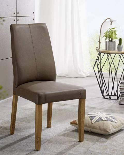 Bighome.sk VIENNA Jedálenská stolička, svetlohnedá