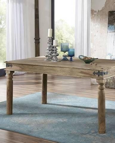 CASTLE Jedálenský stôl 160x90 cm, palisander