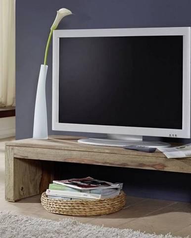 GREY WOOD TV stolík 115x30 cm, palisander