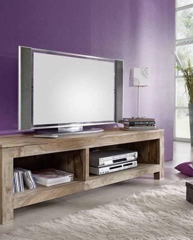 GREY WOOD TV stolík 148x45 cm, palisander