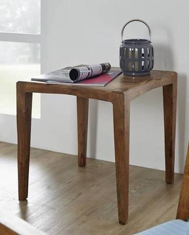 MODERNA Príručný stolík 50x50 cm, palisander