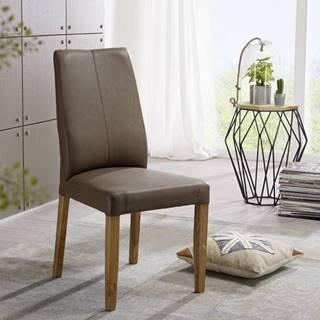 VIENNA Jedálenská stolička, svetlohnedá