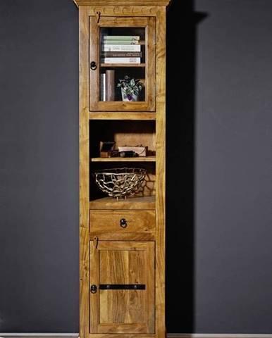 CAMBRIDGE HONEY Vitrína 187x52 cm, akácia