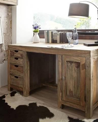 GREY WOOD Písací stôl 150x75 cm, palisander