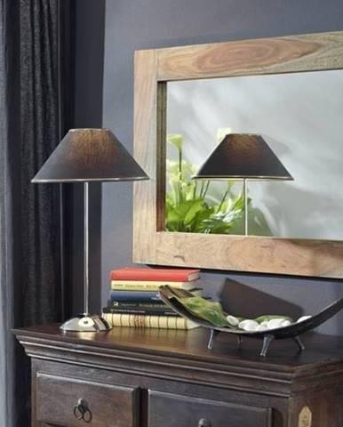 GREY WOOD Zrkadlo 90x60 cm, palisander