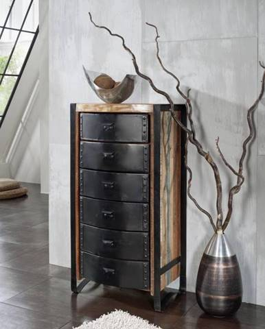 INDUSTRY Komoda 120x60 cm, staré drevo