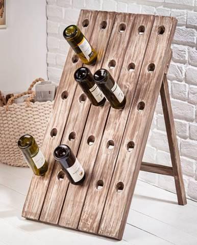 Regál na víno CASK 88 cm