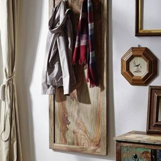 GREY WOOD Vešiak nástenný 150x55 cm, palisander