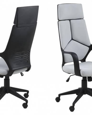 Kancelárska stolička DUNBIUM, svetlosivá