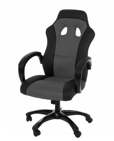 Kancelárska stolička RACE, sivá
