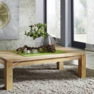 LIGHT WOOD Konferenčný stolík 130x75 cm, palisander