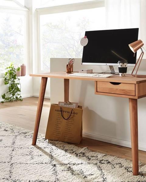 Bighome.sk MELBOURNE Písací stôl 120x55 cm, buk