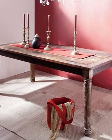 COLORES Jedálenský stôl 120x80 cm, staré drevo