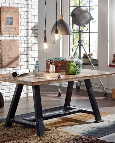INDUSTRY Jedálenský stôl 220x100 cm. staré drevo