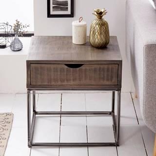 Nočný stolík IRONIC 45 cm