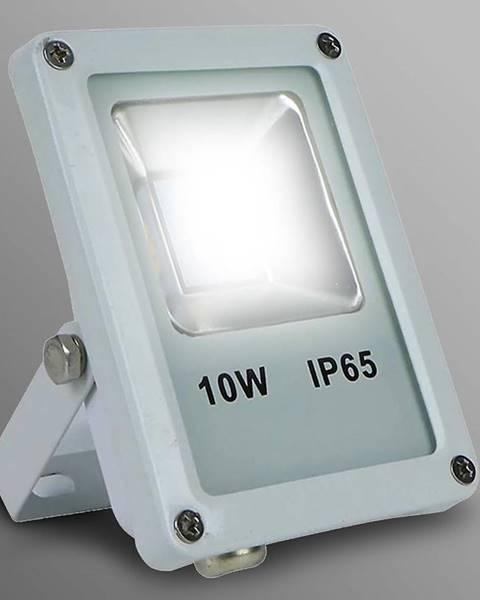 MERKURY MARKET Biely LED reflektor 10W IP65 800LM 4000K EK700