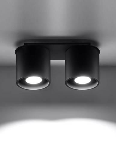 Stropná Lampa Orlando 2 BLACK A-054