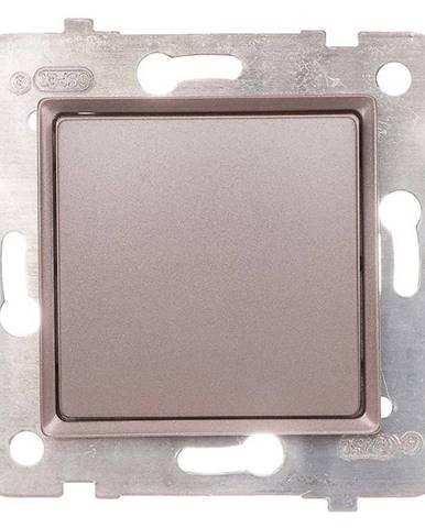 Vypínač jednoposteľová titán LP-1Q/M