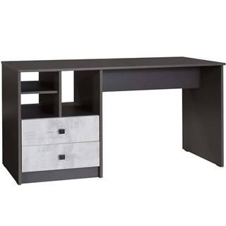 Písací stôl Tommy 18  grafit/enigma