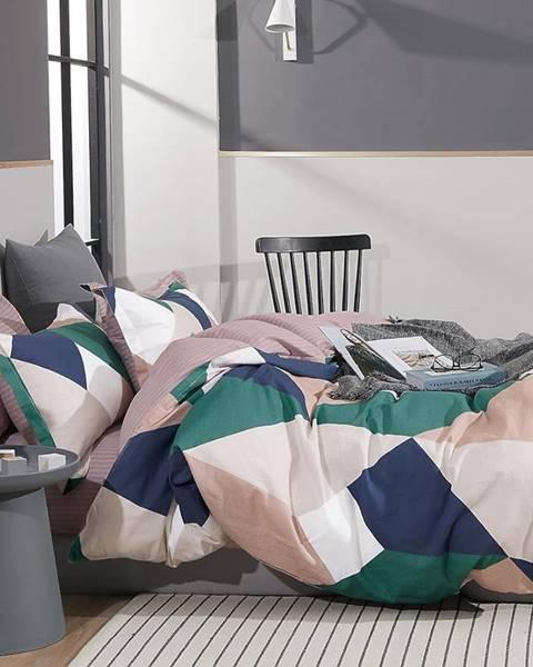 MERKURY MARKET Bavlnená saténová posteľná bielizeň ALBS-01219B 140X200