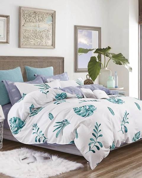MERKURY MARKET Bavlnená saténová posteľná bielizeň ALBS-01176B/3 200x220
